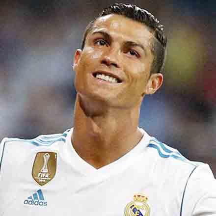 Equipamiento infantil de fútbol de Cristiano Ronaldo