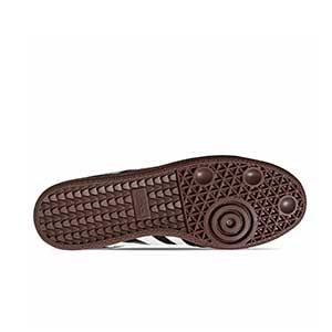 adidas Samba - Zapatillas de fútbol sala de piel adidas suela lisa - Negro - suela