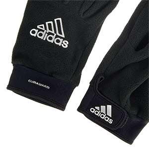 Guantes térmicos adidas Fieldplayer Fleece - Guantes térmicos de jugador para el invierno adidas - negros - detalle