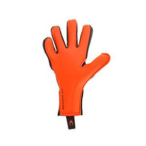 HO Soccer Phenomenon Magnetic 2 - Guantes de portero profesionales HO Soccer corte Negative - negros y naranjas