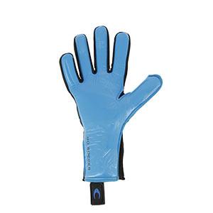 HO Soccer Phenomenon Magnetic 2 - Guantes de portero profesionales HO Soccer corte Negative - azules - completa palma mano izquierda