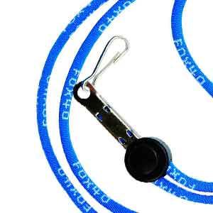 Cordón silbato árbitro Fox 40 Break Away - Cordón para silbato de árbitro de fútbol Fox 40 - azul - frontal