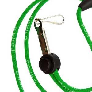 Cordón silbato árbitro Fox 40 Break Away - Cordón para silbato de árbitro de fútbol Fox 40 - verde - frontal
