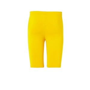 Mallas portero Uhlsport Distinction - Mallas cortas de portero Uhlsport - amarillas - trasera