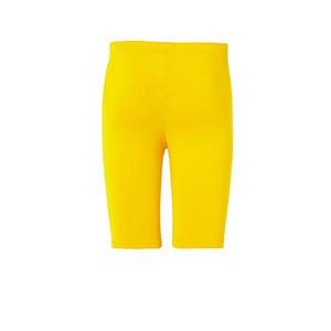 Mallas portero Uhlsport niño Distinction - Mallas cortas infantiles de portero Uhlsport - amarillas - trasera