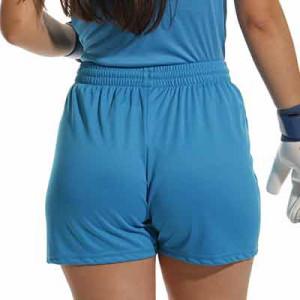 Short Uhlsport mujer Center Basic - Pantalón corto de portero para mujer Uhlsport - azul celeste