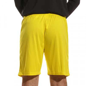 Short portero Uhlsport Center Basic - Pantalón corto de portero Uhlsport - amarillo - trasera