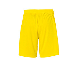Short portero Uhlsport niño Center Basic - Pantalón corto de portero infantil Uhlsport - amarillo - trasera