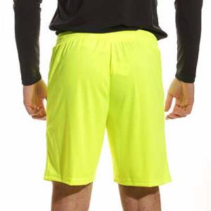 Short portero Uhlsport Center Basic - Pantalón corto de portero Uhlsport - amarillo flúor - trasera