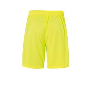 Short portero Uhlsport niño Center Basic - Pantalón corto de portero infantil Uhlsport - amarillo flúor - trasera