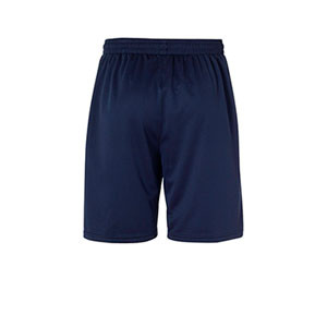 Short portero Uhlsport niño Center Basic - Pantalón corto de portero infantil Uhlsport - azul marino - trasera