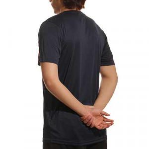 Camiseta portero Uhlsport Stream - Camiseta de manga corta de portero Uhlsport - azul marino - trasera
