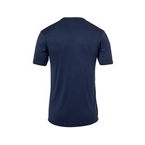 Camiseta portero Uhlsport niño Stream - Camiseta de manga corta de portero infantil Uhlsport - azul marino - trasera