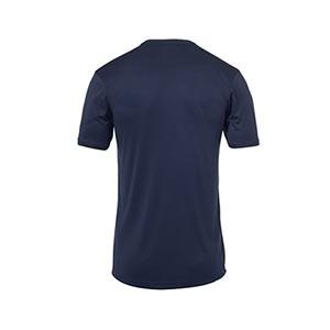 Camiseta portero Uhlsport niño Stream - Camiseta de manga corta de portero infantil Uhlsport - azul celeste - trasera