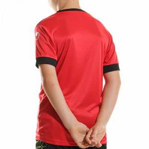 Camiseta Uhlsport Offense 23 niño - Camiseta de manga corta de portero infantil Uhlsport - roja - completa trasera