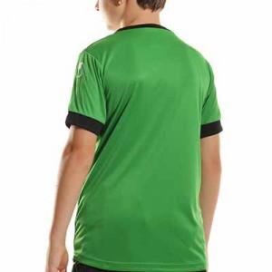 Camiseta Uhlsport Offense 23 niño - Camiseta de manga corta de portero infantil Uhlsport - verde - completa trasera