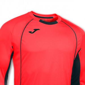 Camiseta Joma manga larga rojo - Camiseta portero Joma manga larga - - rojo - detalle escudo