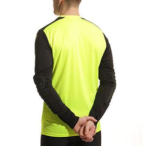 Camiseta portero Uhlsport - Camiseta portero manga larga Uhlsport - Negro / Amarillo - trasera