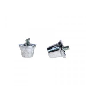 Tacos aluminio Uhlsport cilíndricos - Tacos de recambio universales para botas SG (4 uds x 16 mm y 8 uds x 13 mm) - 1007100010200-TACOS aluminio