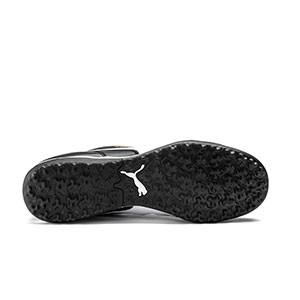 Puma King Top TT - Zapatillas de fútbol multitaco de piel de canguro Puma suela turf - negras - suela