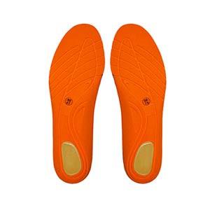 Plantillas para botas Rucanor Basic Sports - Plantillas para botas de fútbol Rucanor - negras - trasera