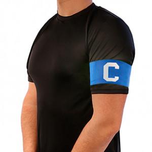Brazalete de Capitán 36 cm - Brazalete de capitán adulto - Azul