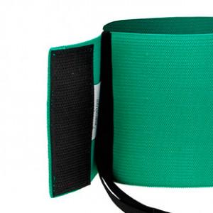 Brazalete Jr de delegado 30 cm - Brazalete de delegado para niño - Verde - detalle cierre