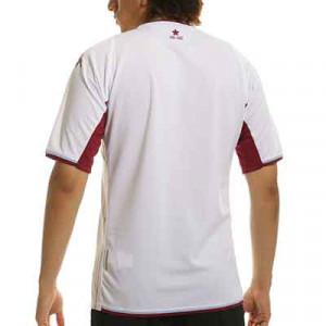 Camiseta Kappa 2a Aston Villa 2021 2022 Kombat - Camiseta segunda equipación Kappa Aston Villa FC 2021 2022 - blanca