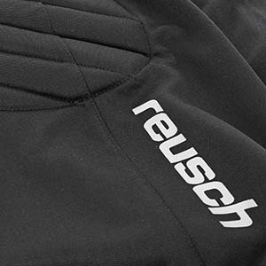 Pantalón portero Reusch Starter niño - Pantalón corto infantil acolchado de portero Reusch Starter - negro - detalle