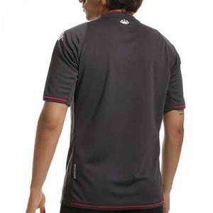 Camiseta Kappa 2a AS Mónaco 2021 2022 Kombat - Camiseta segunda equipación Kappa AS Mónaco 2021 2022 - negra