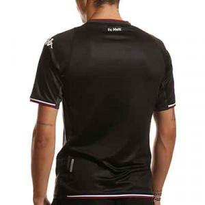 Camiseta Kappa 3a Metz 2021 2022 Kombat - Camiseta tercera equipación Kappa Metz 2021 2022 - negro