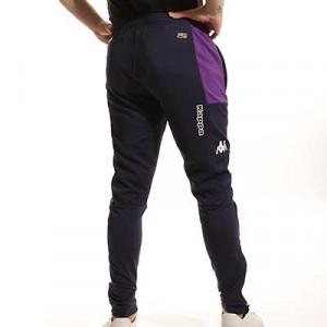 Pantalón Kappa Fiorentina entrenamiento Pro 5 - Pantalón largo de entrenamiento Kappa del Aston Villa - azul marino