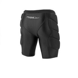 Pantalón corto Reusch CS Soft Padded - Pantalón corto acolchado de portero Reusch CS - negro - trasera