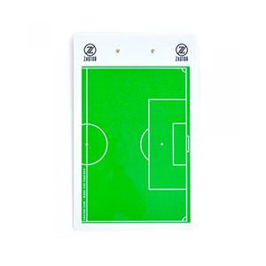 Pizarra entrenador fútbol Zastor 41x25 cm - Pizarra de doble cara para entrenador de fútbol Zastor - verde - Trasera