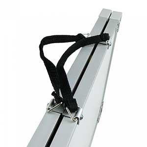 Pizarra táctica magnética plegable Zastor 45x60 cm - Pizarra táctica magnética plegable para fútbol Zastor (45 x 60 cm) - blanca - plegado