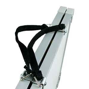 Zastor plegable 60x90 cm - Pizarra táctica magnética plegable para fútbol Zastor (60 x 90 cm) - blanca - Detalle