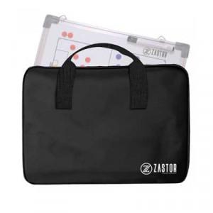 Bolsa porta-pizarra Zastor 30x45 cm - Bolsa porta pizarra táctica de fútbol Zastor - negra - frontal