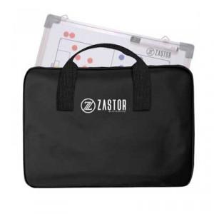 Bolsa porta-pizarra Zastor 45x60 cm - Bolsa porta pizarra táctica de fútbol Zastor - negra - detalle