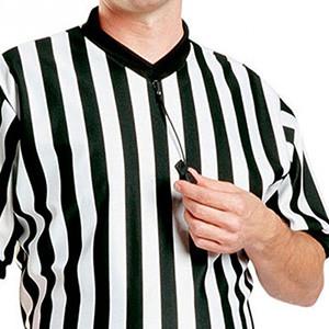 Cordones silbato árbitro Zastor Hoop - Cordones para silbato de árbitro de fútbol Zastor - negros - detalle