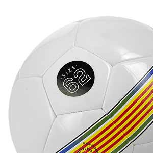 Balón Munich Hera Indoor RFEF Talla futsal - Balón Munich Hera Indoor FCF talla 62 cm - detalle talla