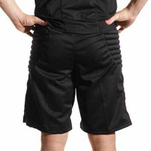 Short portero Reusch Starter 2 - Pantalón corto acolchado de portero Reusch Starter - negro - trasera