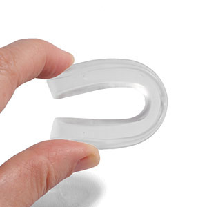 Protector bucal fútbol Shock Doctor niño EZ Gard - Protector dental para fútbol infantil Shock Doctor - blanco
