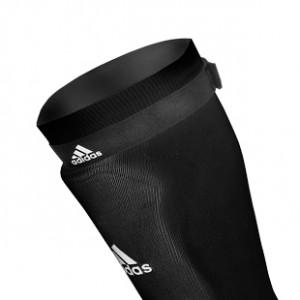 Sujeta medias adidas - Cintas sujeta medias talla única con velcro adidas (2 uds) - Negro - detalle