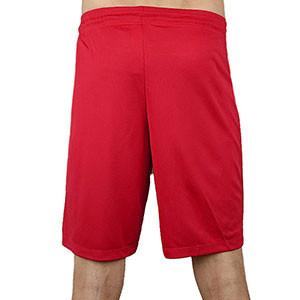 Short Nike Park II Knit - Pantalón corto de poliéster Nike - Rojo - trasera