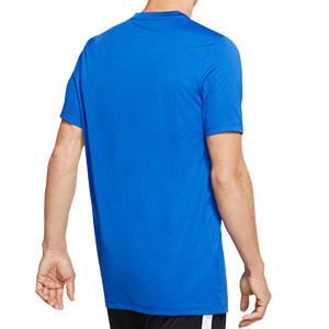 Camiseta Nike Park manga corta azul - Camiseta Nike Park manga corta - azul - trasera