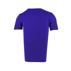 Camiseta entreno Nike Dry Football - Camiseta manga corta de entrenamiento Nike - morada - trasera