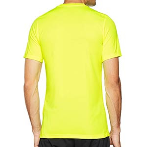 Camiseta entreno Nike Dry Football - Camiseta manga corta de entrenamiento Nike - verde lima - trasera