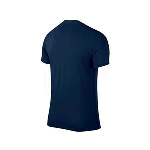 Camiseta Nike Park 6 niño - Camiseta infantil Nike - azul marino - trasera