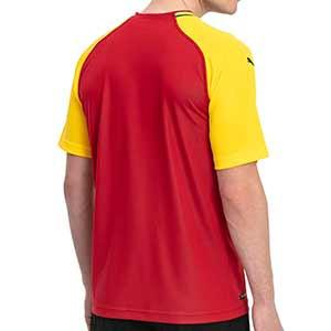 Camiseta Puma 1a Ghana 2018 - Camiseta oficial primera equipación selección Ghana 2018 - Rojo / Amarillo - trasera