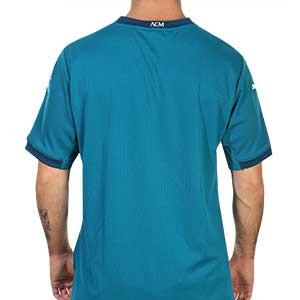 Camiseta Puma 3a AC Milan 2020 2021 - Camiseta tercera equipación Puma AC Milan 2020 2021 - azul turquesa - trasera